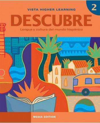 9781617679247: Descubre 2 Media Edition - Student Edition, Supersite Code and eCuaderno Code