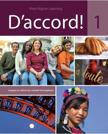 D'Accord 1 - Student Edition, Supersite Code and Cahier Interactif Code