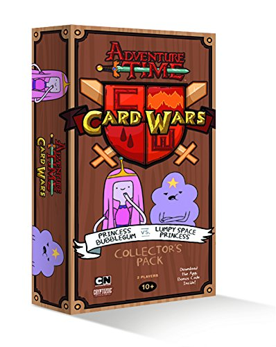 9781617683657: Adventure Time Card Wars Princess Bubblegum Vs Lumpy Space Princess Collector's Pack