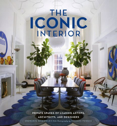 9781617690051: The Iconic Interior: Private Spaces of Leading Artists, Architects, and Designers