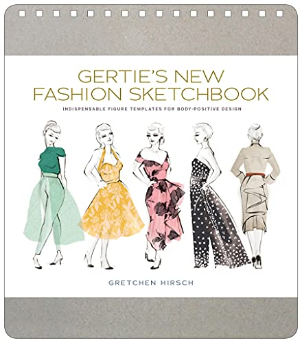 9781617691737: Gertie's New Fashion Sketchbook: Indispensable Figure Templates for Body-Positive Design (Gertie's Sewing)