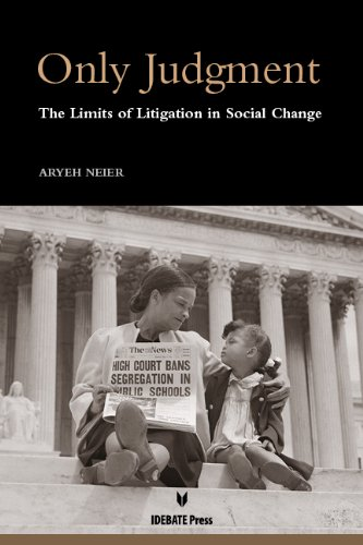 9781617700446: Only Judgment: The Limits of Litigation in Social Change