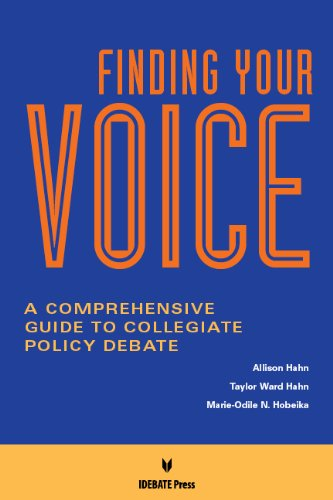 9781617700514: Finding Your Voice: A Comprehensive Guide to Collegiate Policy Debate