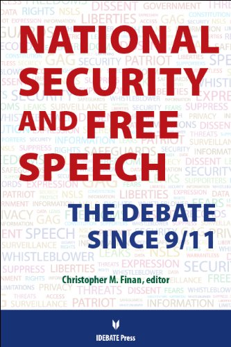 9781617700828: National Security and Free Speech: The Debate Since 9/11