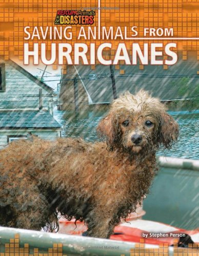Saving Animals from Hurricanes (Library Binding): Stephen Person