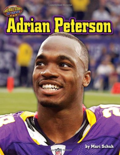 9781617727184: Adrian Peterson (Football Stars Up Close)