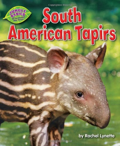 9781617727597: South American Tapirs (Jungle Babies of the Amazon Rain Forest)