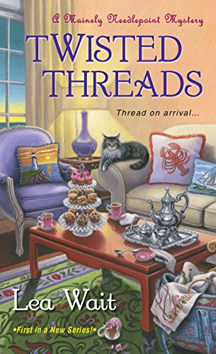 9781617730047: Twisted Threads (A Mainely Needlepoint Mystery)