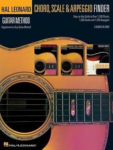 GUITAR CHORD SCALE & ARPEGGIO FINDER - HAL LEONARD GUITAR METHOD SERIES Format: Paperback