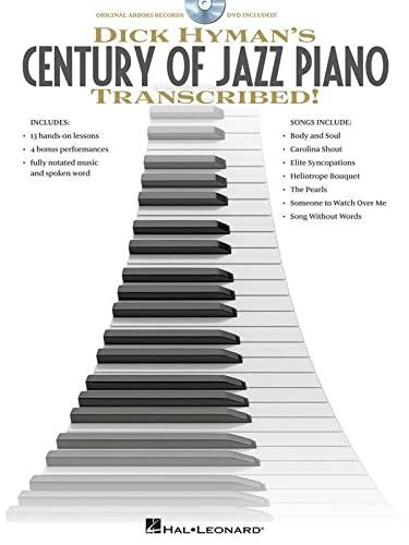 9781617740190: Dick Hyman's Century of Jazz Piano - Transcribed! - Instructional Book/DVD