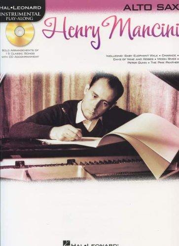 9781617740671: Hal Leonard Instrumental Play-Along: Henry Mancini (Alto Saxophone)
