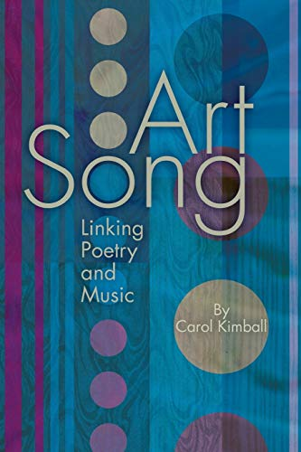 9781617740800: Art Song: Linking Poetry and Music