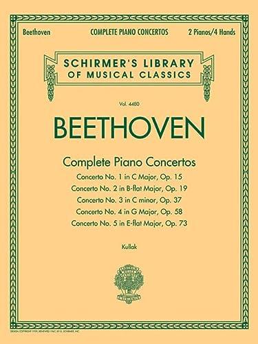 9781617741241: Ludwig Van Beethoven: Complete Piano Concertos (2 Pianos, 4 Hands)