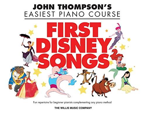 First Disney Songs-Thompson'seasiest Piano Course (John Thompson's Easiest Piano Course):...