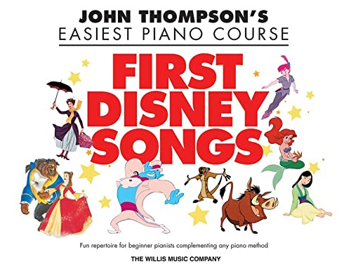 9781617741791: First Disney Songs: Elementary Level (John Thompson's Easiest Piano Course)