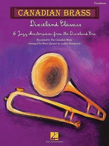 9781617742361: Dixieland Classics Trombone Candian Brass