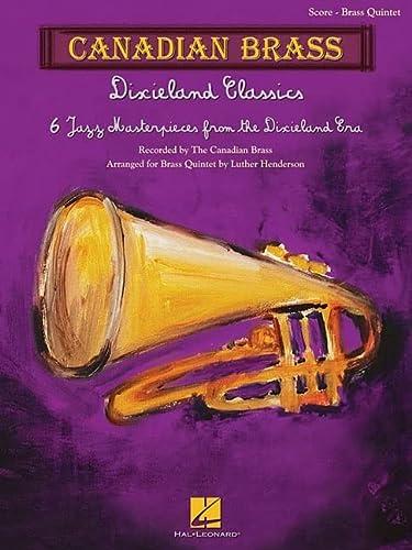 9781617742385: Dixieland Classics Score Candian Brass