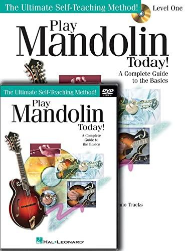 Play Mandolin Today! Level One Package [With DVD] (Ultimate Self-Teaching Method!): Baldwin, Doug