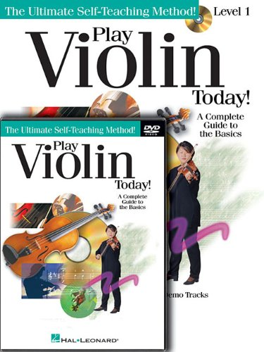 Play Violin Today! Beginner's Pack: Level 1 Book/CD/DVD Pack (Play Today!: Level One...