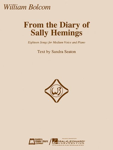 9781617742514: From the Diary of Sally Hemings: Medium Voice and Piano