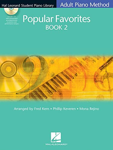 Hlspl Adult Method Popular Favorites 2 Bk/Cd (Hal Leonard Student Piano Library): Hal Leonard ...