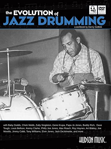 9781617742736: The Evolution of Jazz Drumming: A Workbook for Applied Drumset Students