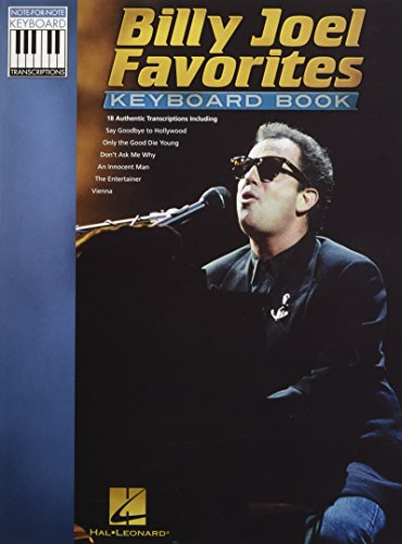 9781617742767: Billy Joel Favorites Keyboard Book (Note-for-note Keyboard Transcriptions)