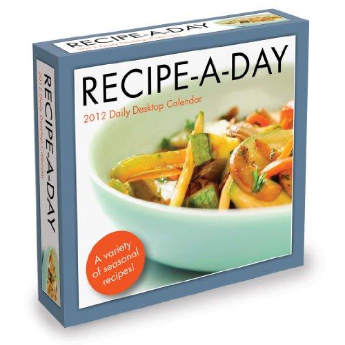 9781617762192: 2012 Recipe-a-Day Box Calendar