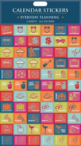 9781617762352: Everyday Planning Calendar Stickers