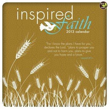 9781617765421: Inspired by Faith Calendar