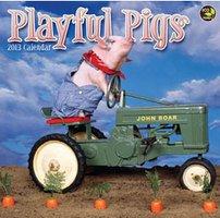 Playful Pigs 2013 Calendar