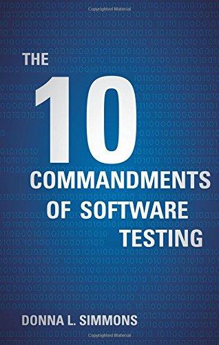 9781617771361: The Ten Commandments of Software Testing