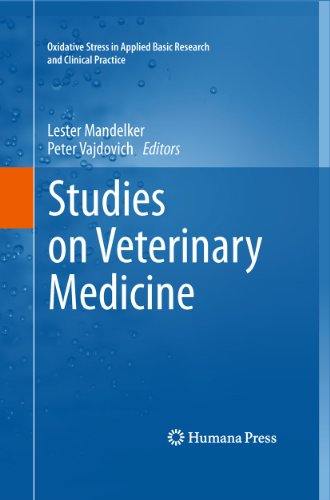 9781617790706: Studies on Veterinary Medicine (Oxidative Stress in Applied Basic Research and Clinical Practice)