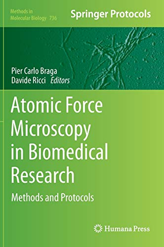 9781617791048: Atomic Force Microscopy in Biomedical Research: Methods and Protocols (Methods in Molecular Biology)