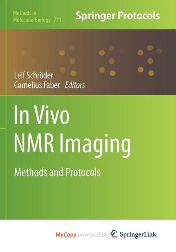 9781617792205: In vivo NMR Imaging: Methods and Protocols