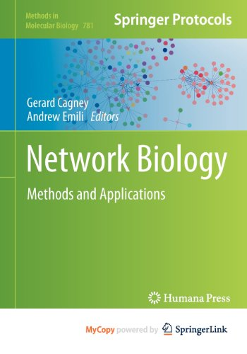 9781617792779: Network Biology: Methods and Applications