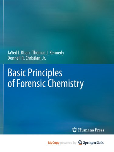 9781617792847: Basic Principles of Forensic Chemistry