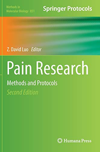 9781617795602: Pain Research: Methods and Protocols (Methods in Molecular Biology)