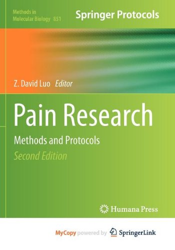9781617795626: Pain Research: Methods and Protocols