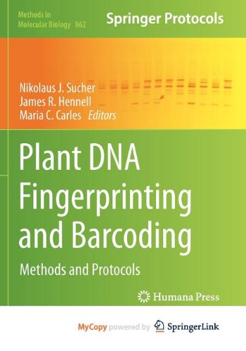 9781617796104: Plant DNA Fingerprinting and Barcoding: Methods and Protocols