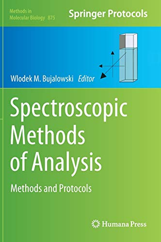 9781617798054: Spectroscopic Methods of Analysis: Methods and Protocols (Methods in Molecular Biology)