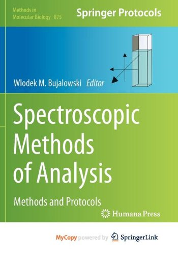 9781617798078: Spectroscopic Methods of Analysis: Methods and Protocols
