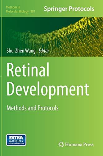 9781617798474: Retinal Development: Methods and Protocols (Methods in Molecular Biology)