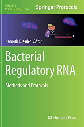 9781617799488: Bacterial Regulatory RNA: Methods and Protocols (Methods in Molecular Biology, Vol. 905)
