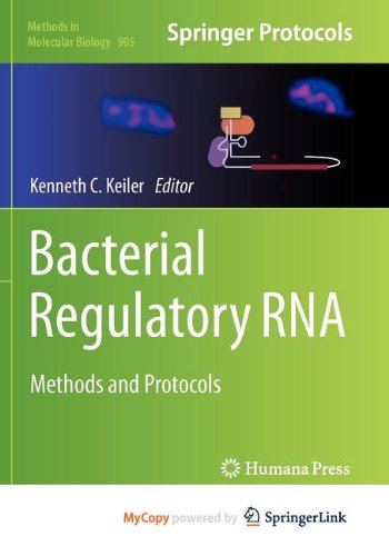 9781617799501: Bacterial Regulatory RNA: Methods and Protocols