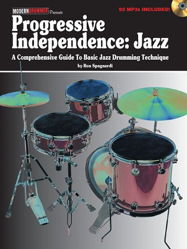9781617803116: Progressive Independence:Jazz (Book/Mp3 Disc)