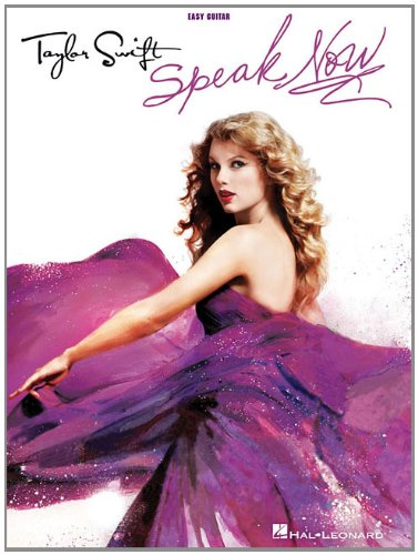 9781617803604: Taylor Swift - Speak Now (Easy Guitar With Tab)