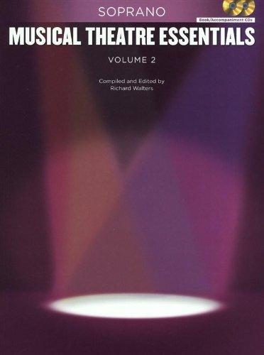 9781617804427: Musical Theatre Essentials: Soprano - Volume 2 (Book/2CDs)