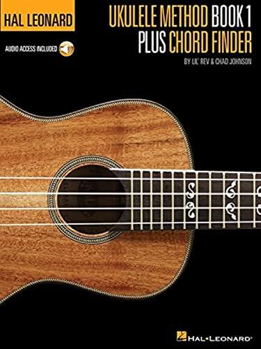 Hal Leonard Ukulele Method & Chord Book (Book/Cd): Johnson, Chad; Lil' Rev