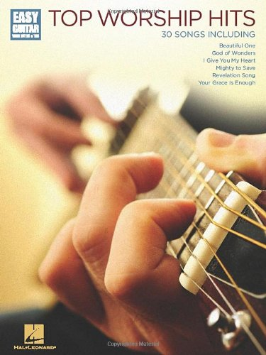 9781617805554: Top Worship Hits (Easy Guitar With Tab)